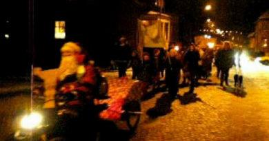 Julskyltning på Råå – 25 november