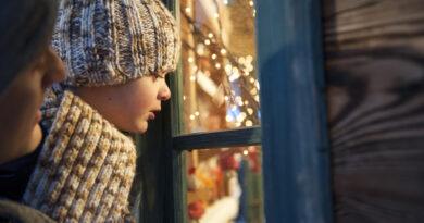 Julskyltning i Helsingborgs city