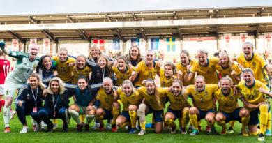 Landskamp Sverige - Norge på Olympia