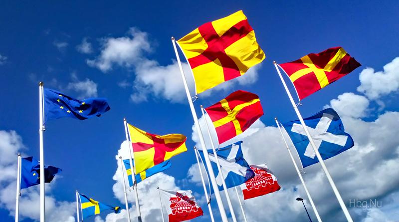 Flaggor i Helsingborg